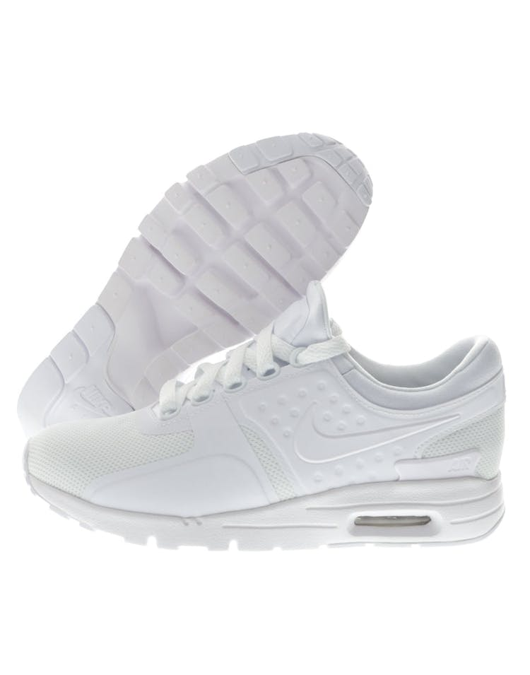 on sale 7fa41 3d434 Nike Women's Air Max Zero White/White