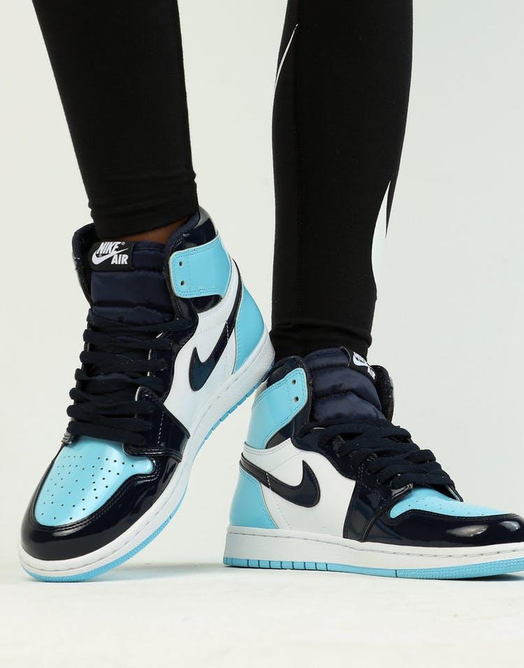 2944bd86ed1 Jordan Women's Air Jordan 1 High OG Obsidian/Blue/White – Culture Kings