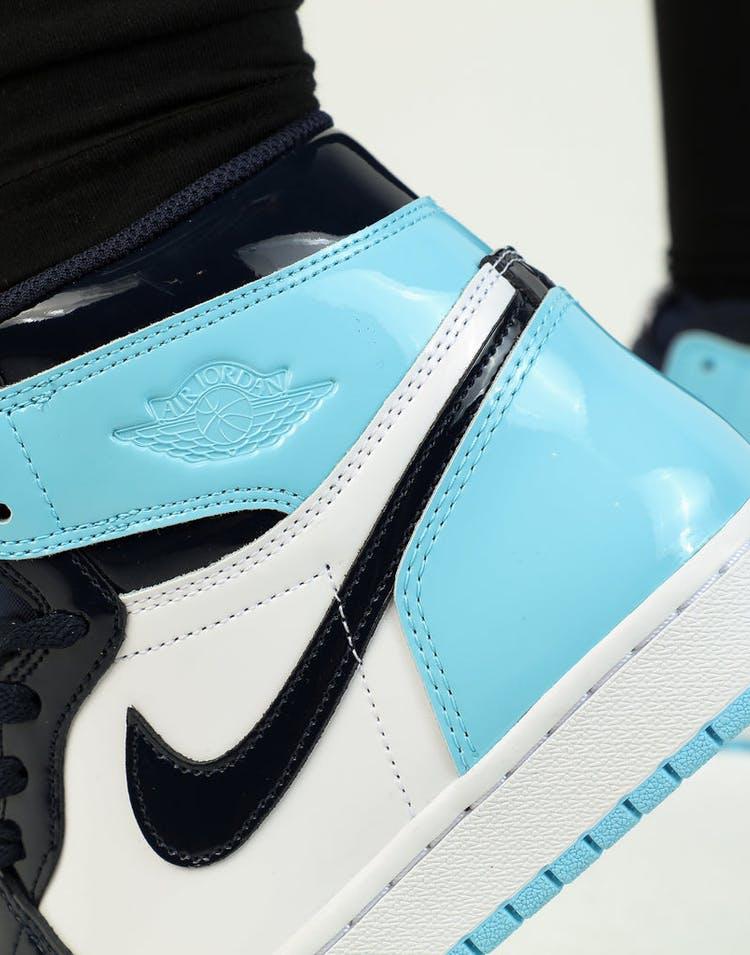 708f730f8437 Jordan Women s Air Jordan 1 High OG Obsidian Blue White – Culture Kings