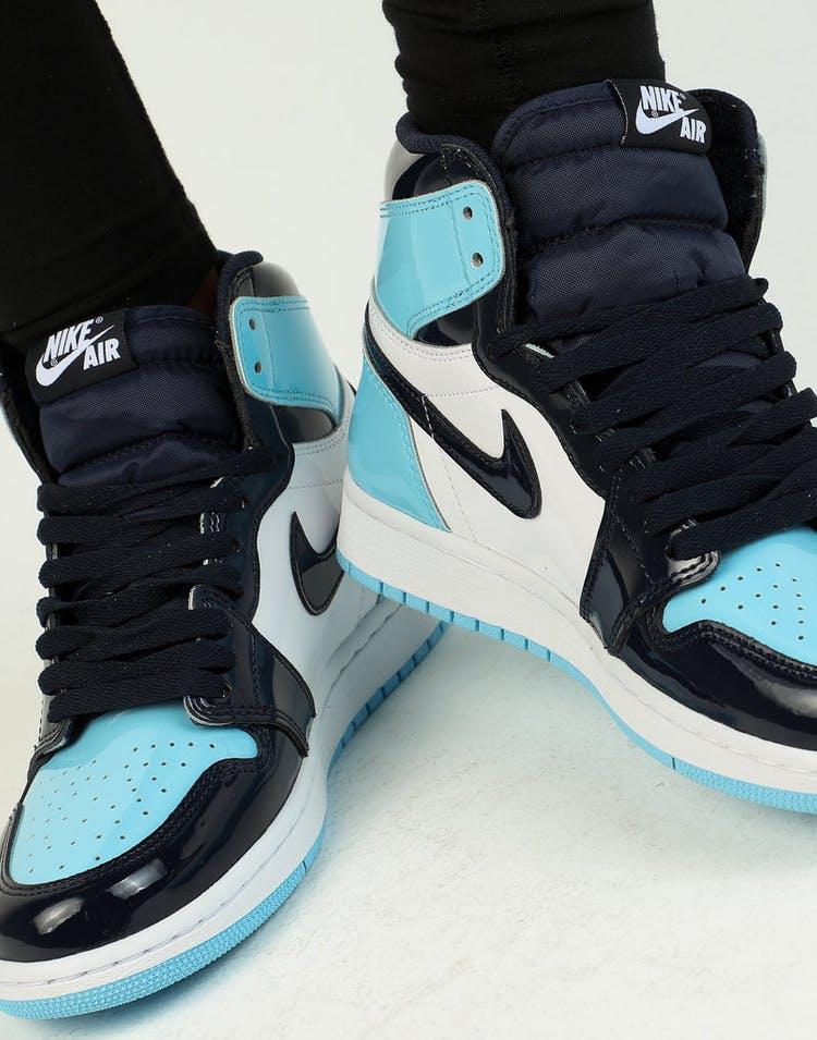 the best attitude 0b008 e7e27 Jordan Women s Air Jordan 1 High OG Obsidian Blue White
