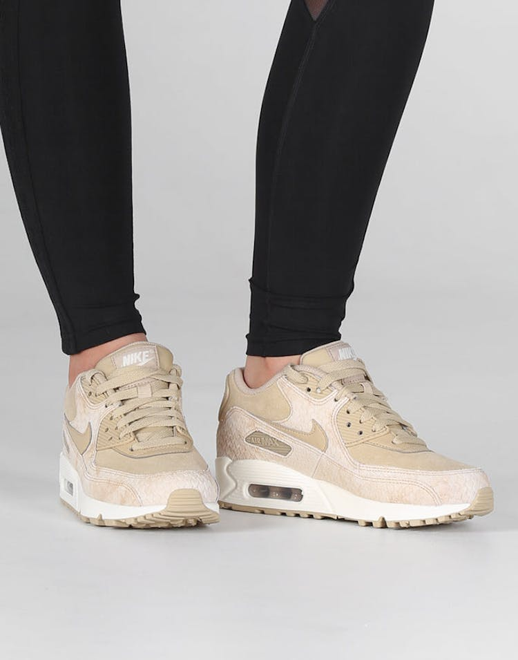 sale retailer 11b15 988f5 Nike Women s Air Max 90 Premium Beige Off White   896497 200 – Culture Kings