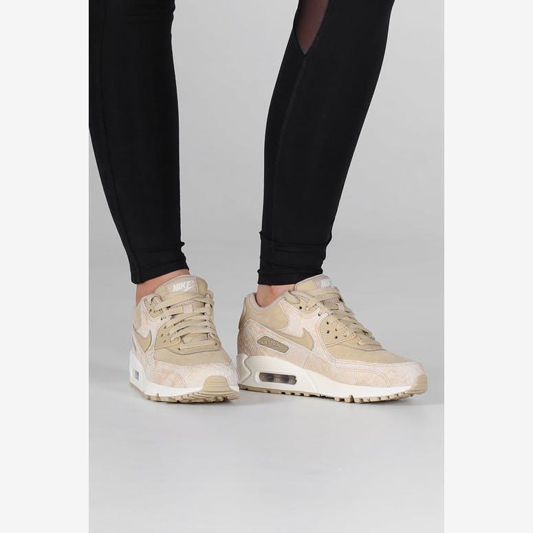 separation shoes 4eb6d c0c6a Nike Womens Air Max 90 Premium BeigeOff White  896497 200 – Culture Kings