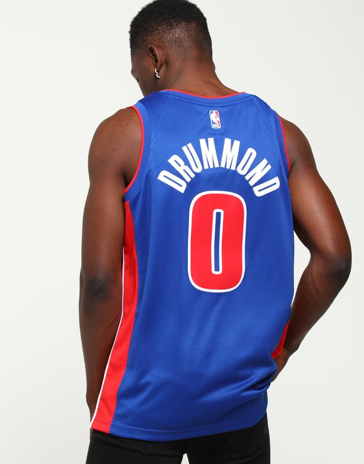 321695b394c Andre Drummond  0 Detroit Pistons Nike Icon Edition Swingman Jersey Bl –  Culture Kings