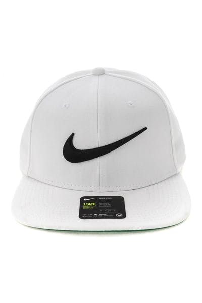 25eb036d0e8 Nike U NK Pro Cap Swoosh Classic White Green Black