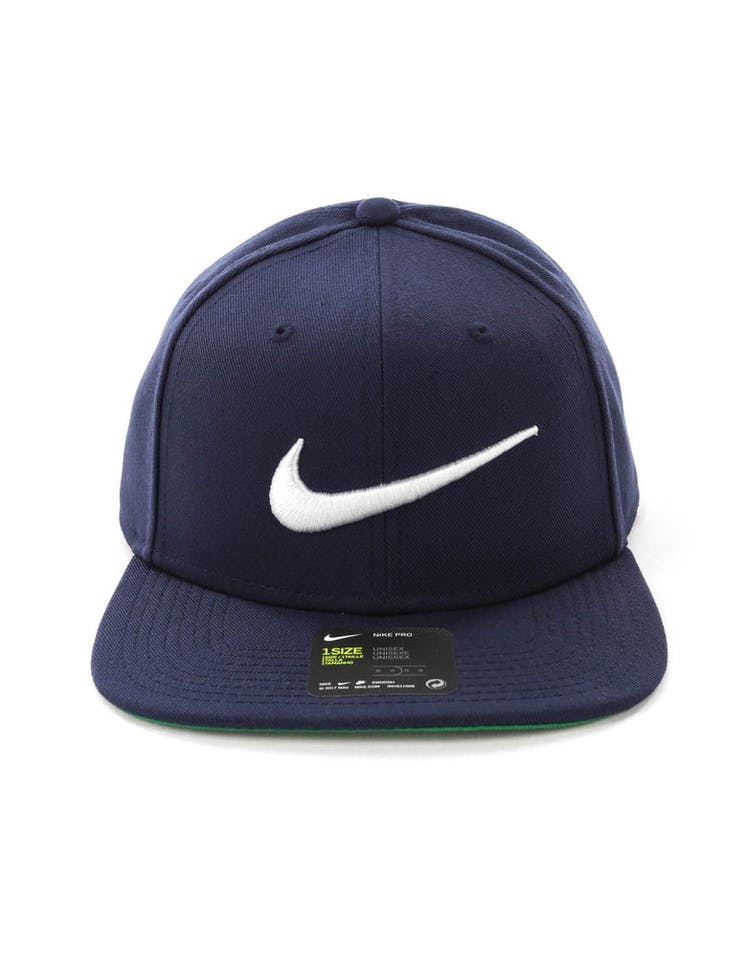 6e5db6134e4b5 Nike U NK Pro Cap Swoosh Classic Dark Navy – Culture Kings