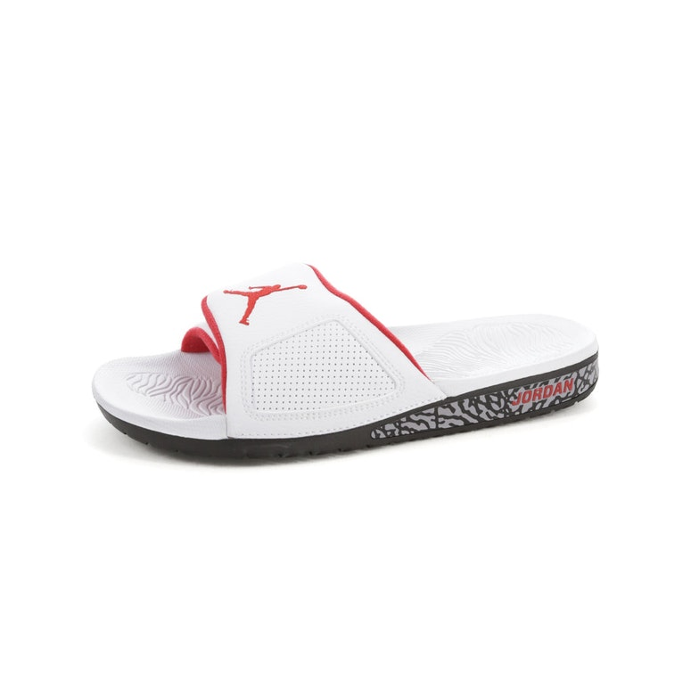 outlet store b4bc4 facff Jordan Hydro III Retro Slide White/Red/Black