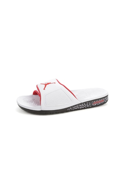 Jordan Hydro III Retro Slide White/Red/Black