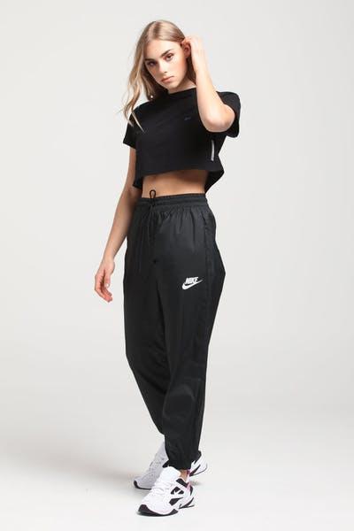 901febe92f719 Nike Women's Nike Sportswear Track Pants Black/White ...