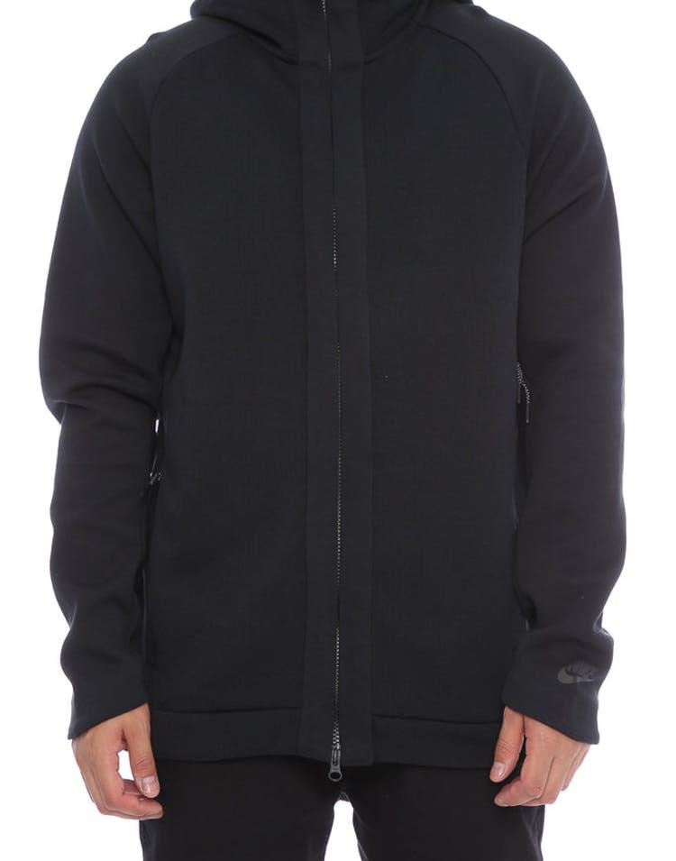 b4f5dc691542 Nike Tech Fleece Hoodie Black Black – Culture Kings