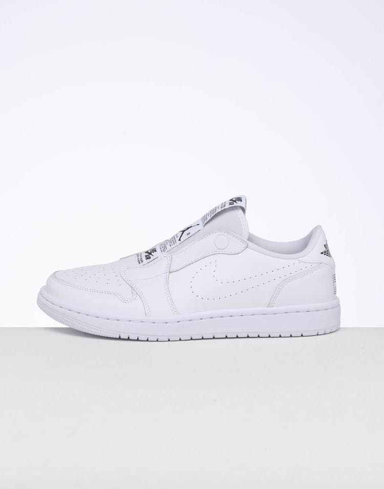 6be1344702 Jordan | Women's Air Jordan 1 Retro Low Slip White/Black | New Kicks –  Culture Kings