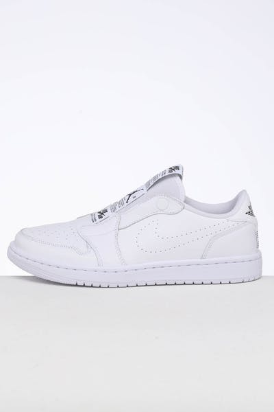 80457e62a1d Jordan Women's Air Jordan 1 Retro Low Slip White/Black