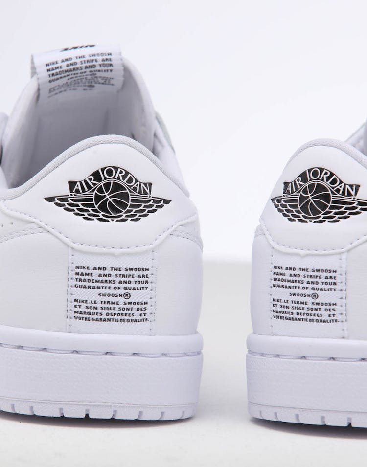 20de1a4ce0 Jordan | Women's Air Jordan 1 Retro Low Slip White/Black | New Kicks ...