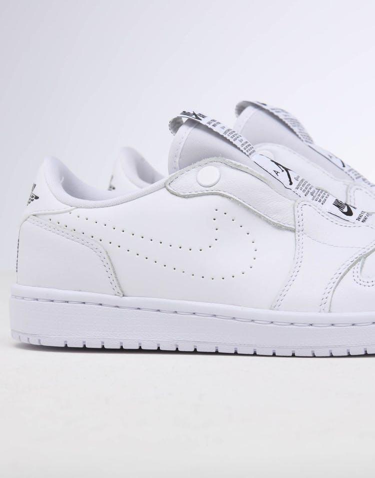 9bc41e940af Jordan | Women's Air Jordan 1 Retro Low Slip White/Black | New Kicks ...