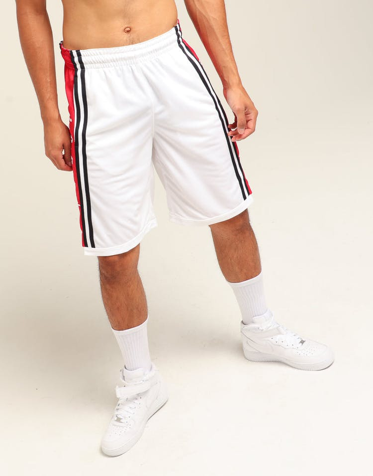 207145bb79e1 Nike Jordan HBR Basketball Short White Red Black – Culture Kings
