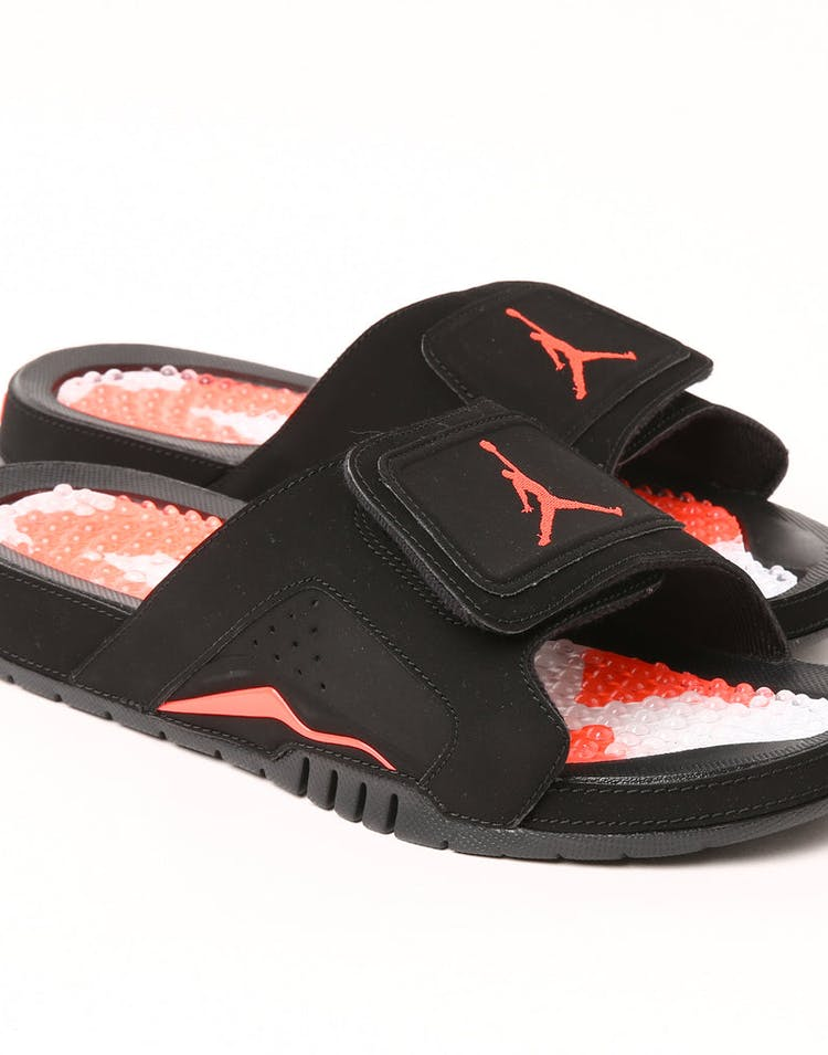 005a5f94968 Jordan Hydro VI Retro Slide Black/Infrared – Culture Kings