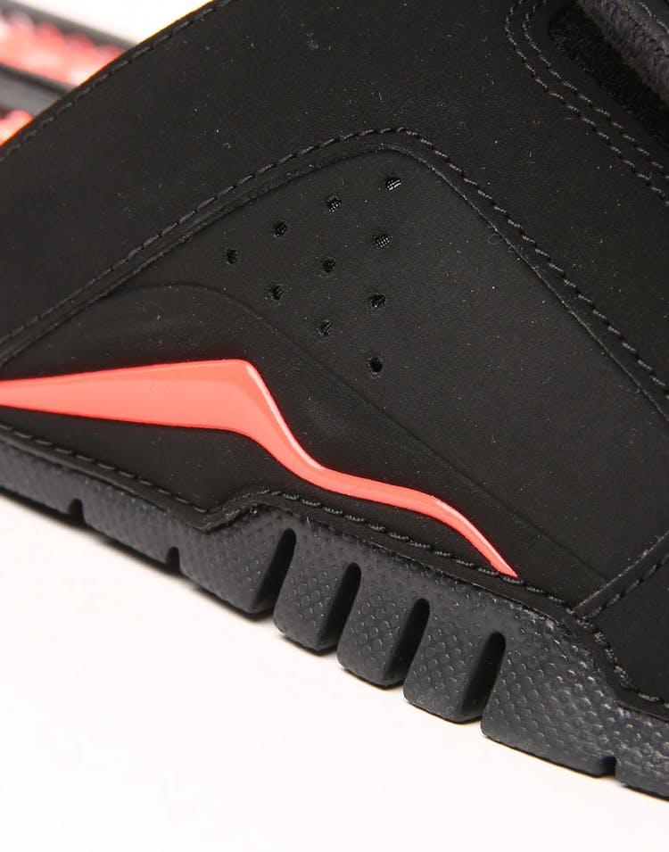 new york 3cd07 9bef4 Jordan Hydro VI Retro Slide Black Infrared