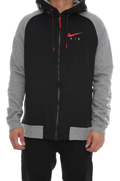 Nike Sportswear Hoodie Dark Grey/Black/Red