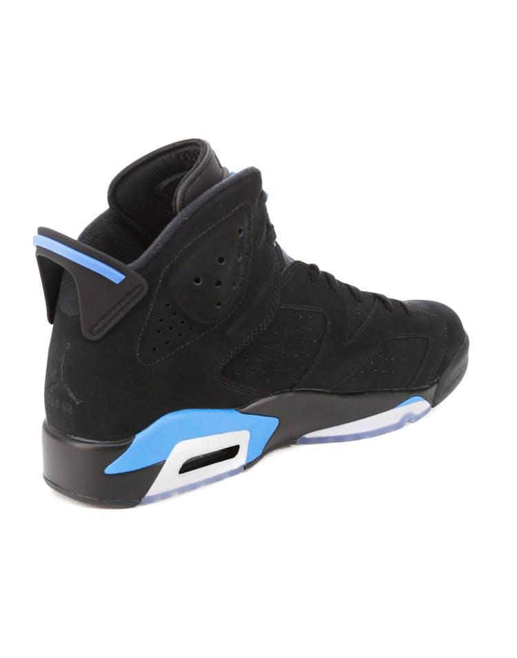 official photos 95eb7 16c2f Air Jordan 6 Retro Black/Blue