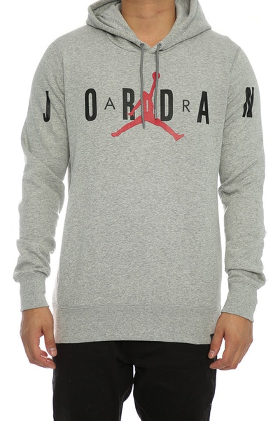 Jordan Flight Graphic Pullover Hood Grey