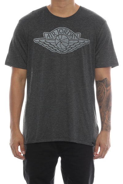 Jordan Iconic Wings Tee Black/White