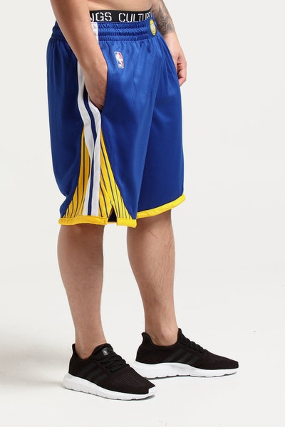 Nike Golden State Warriors Swingman Short Road Blue/White/Yellow