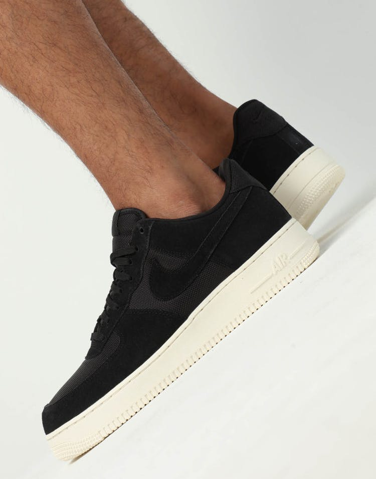 new style 834d6 5eae8 Nike Air Force 1  07 1 Black Black Ivory – Culture Kings