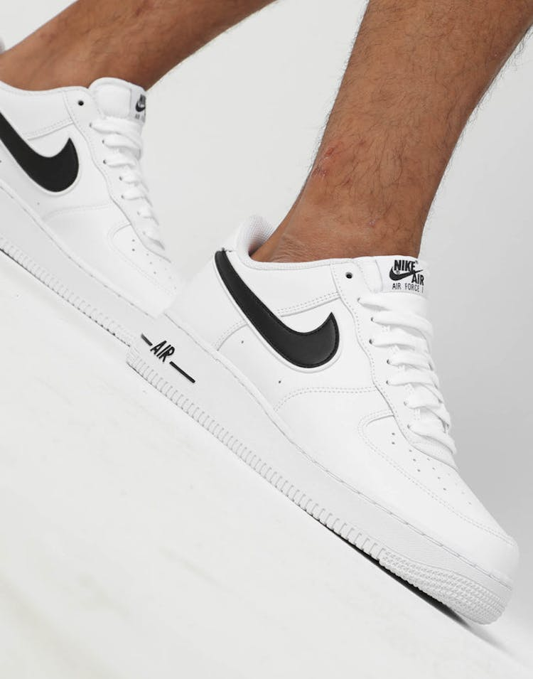 best sneakers 91075 bdee5 Nike Air Force 1  07 3 White Black – Culture Kings