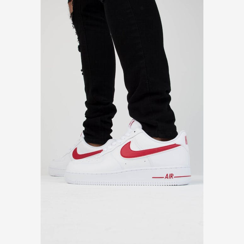 buy popular 61415 42bf4 Nike Air Force 1 07 3 WhiteRed – Culture Kings