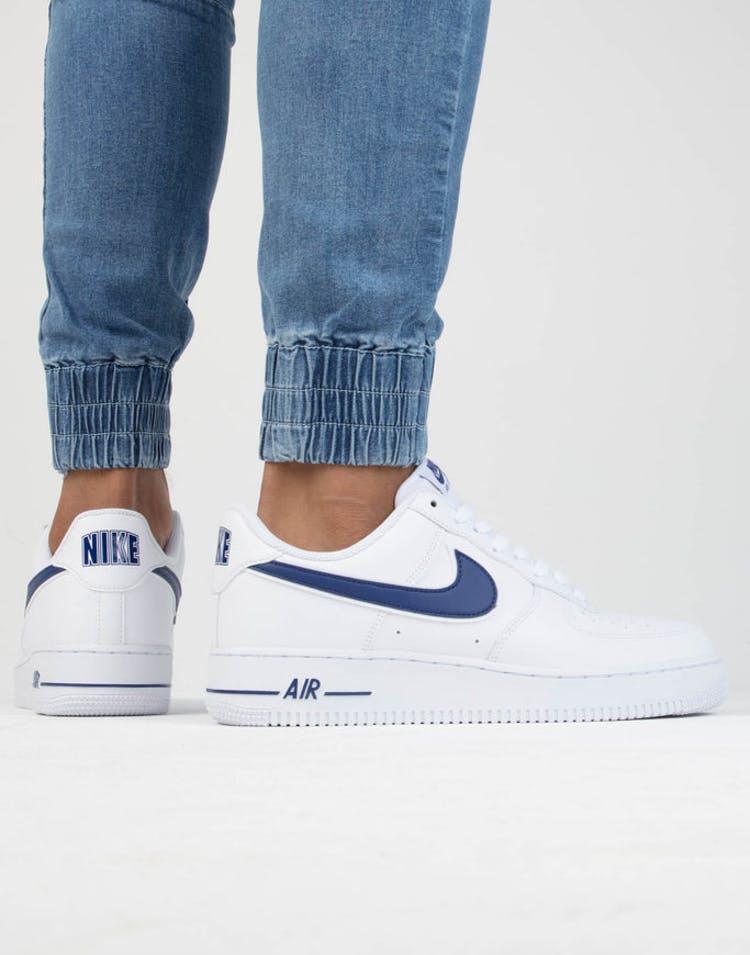 10f9009c22a Nike Air Force 1  07 3 White Royal – Culture Kings