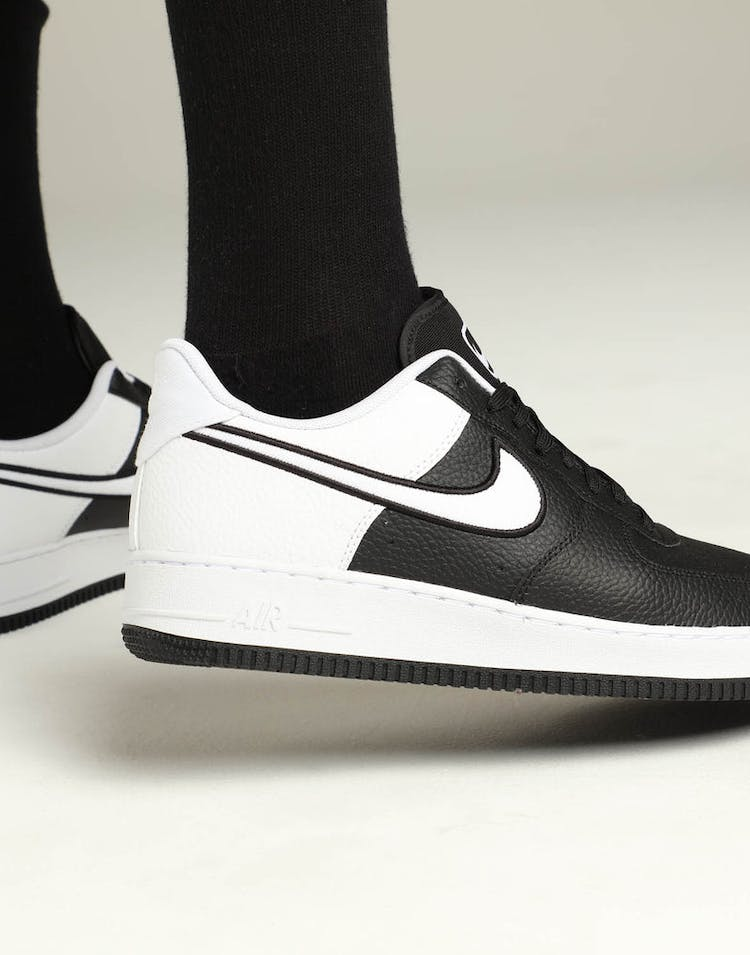 new concept 270bd 2cafb Nike Air Force 1  07 LV8 1 Black White