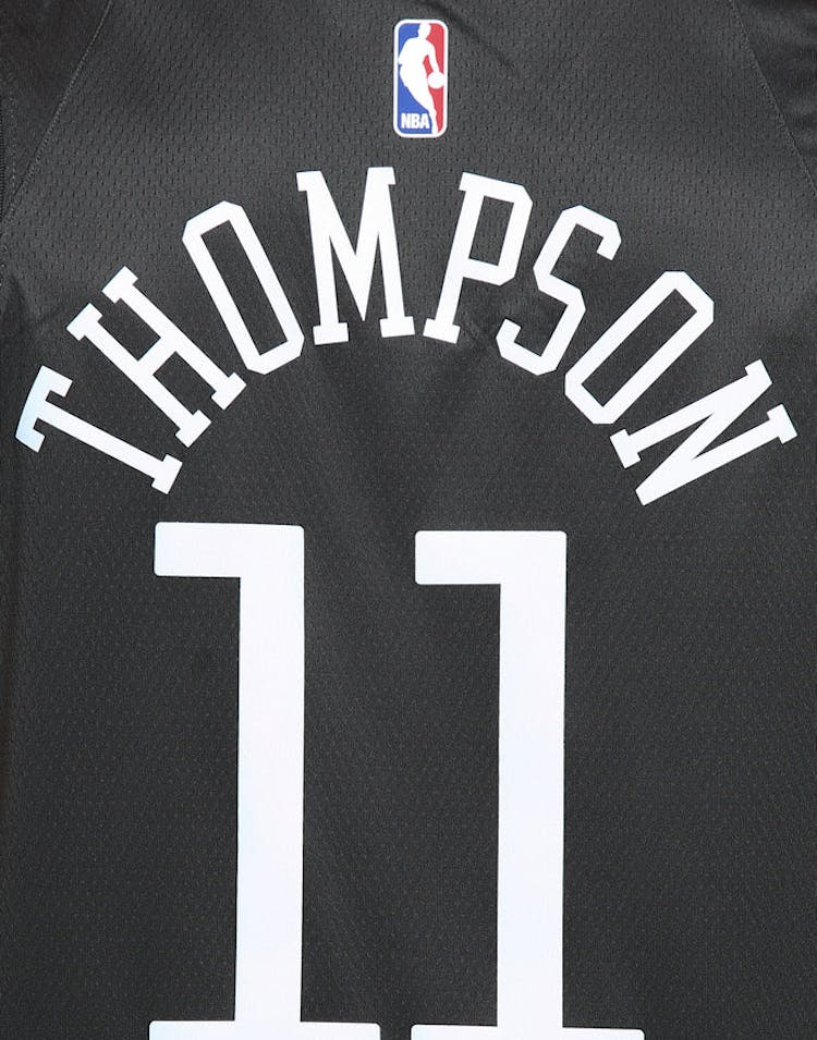 best service 67981 6e451 Nike Golden State Warriors #11 Klay Thompson Statement Edition Swingman  Jersey Grey/White/Yellow