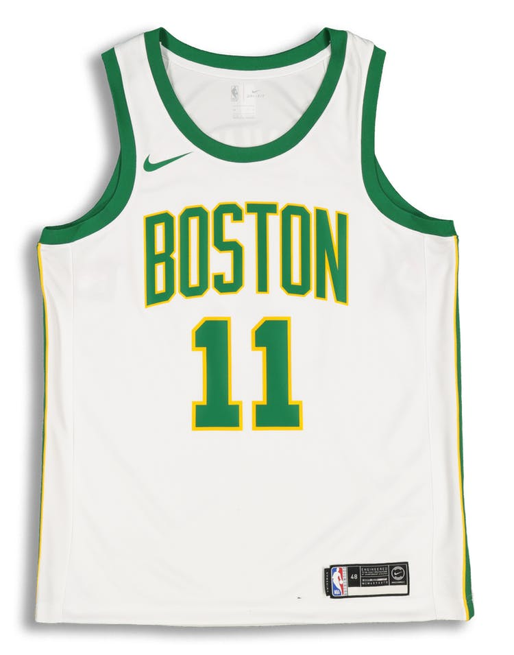 2efb4f28c Nike Boston Celtics Kyrie Irving  11 City Edition Swingman NBA Jersey White