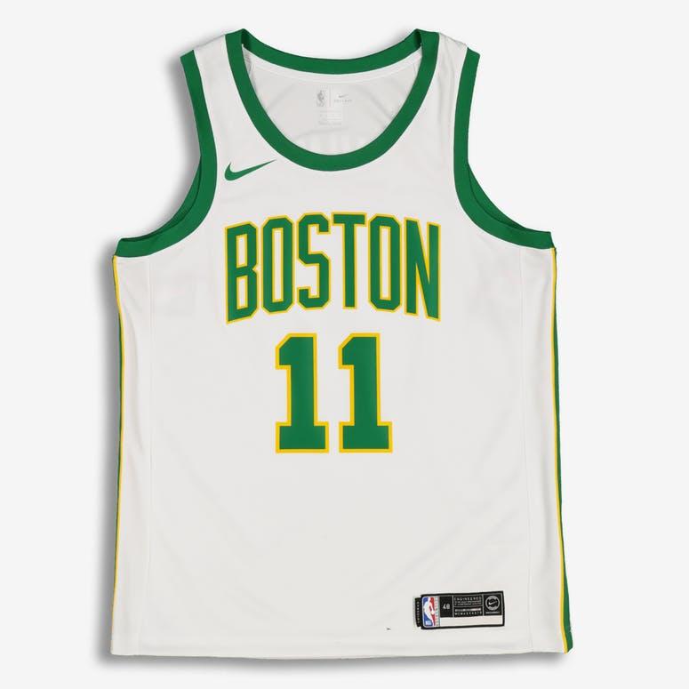 Nike Boston Celtics Kyrie Irving  11 City Edition Swingman NBA Jersey White 8a2865271