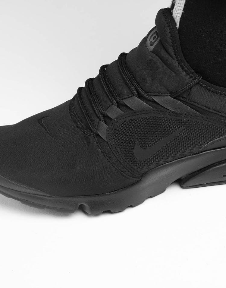 promo code 5a403 90641 Nike Presto Fly World Black/Black/Black