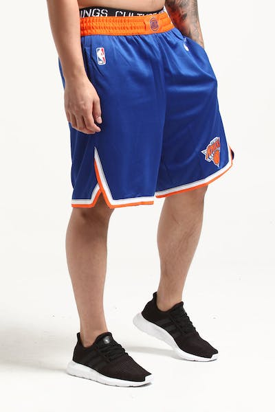 Nike New York Knicks Swingman Short Road Blue/Orange/White