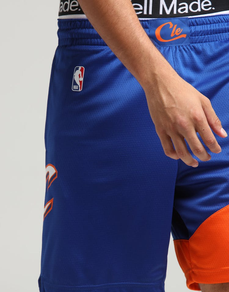 6d07fb7f55f Nike Cleveland Cavaliers City Edition Swingman NBA Short  18 Blue White