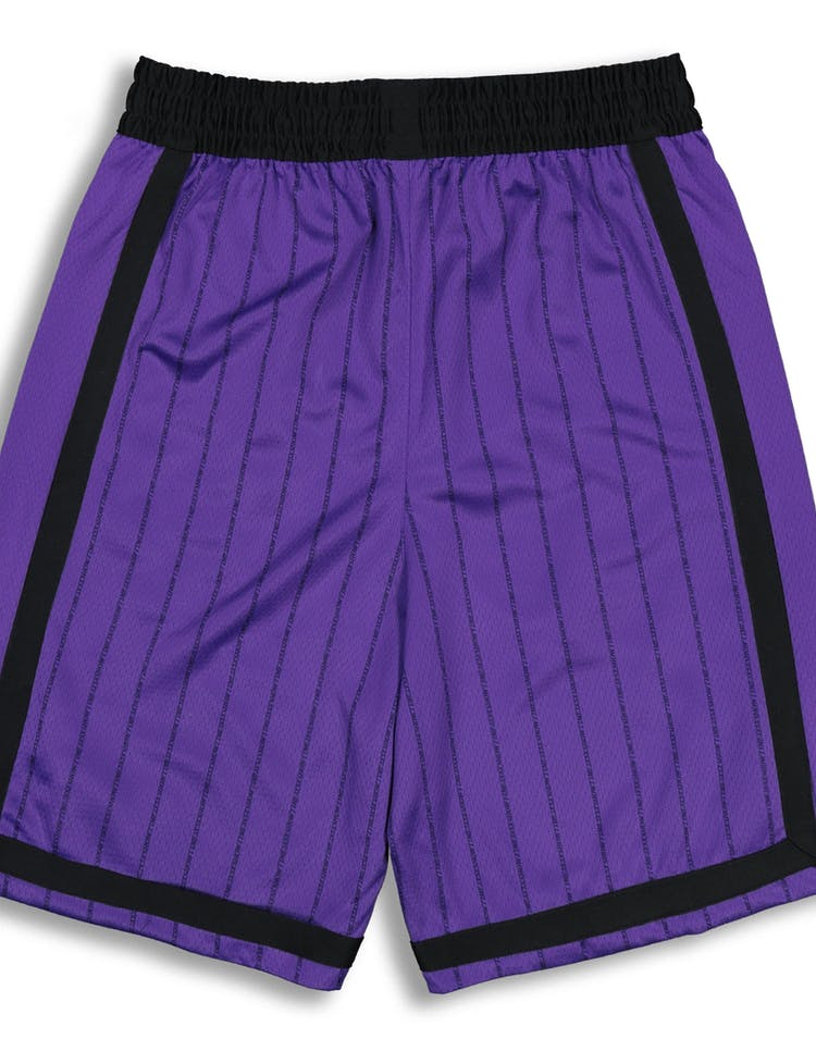5f575531baa6 Nike Los Angeles Lakers City Edition Swingman NBA Short  18 Purple Yellow