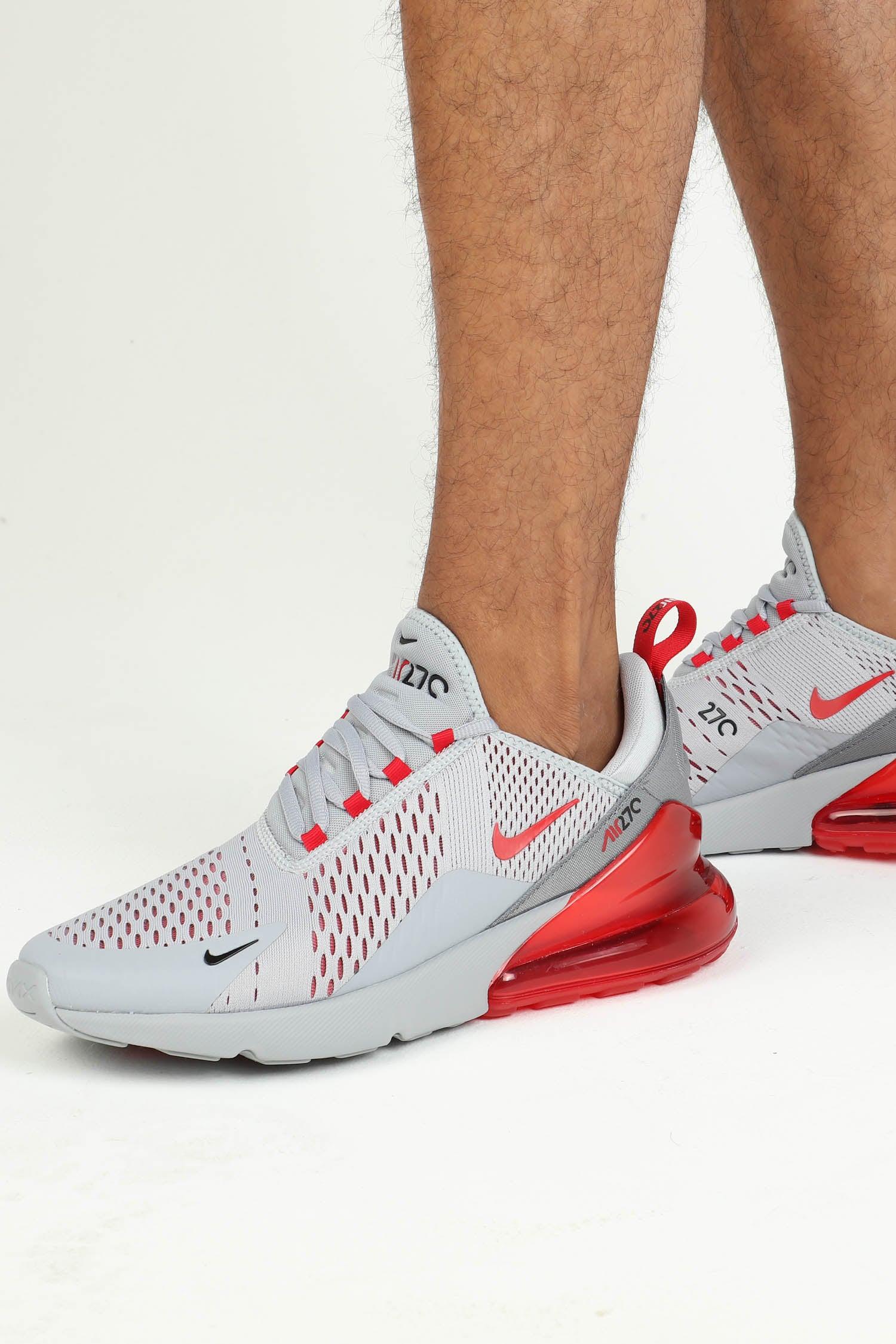Nike Air Max 270 Grey/Red   Culture Kings