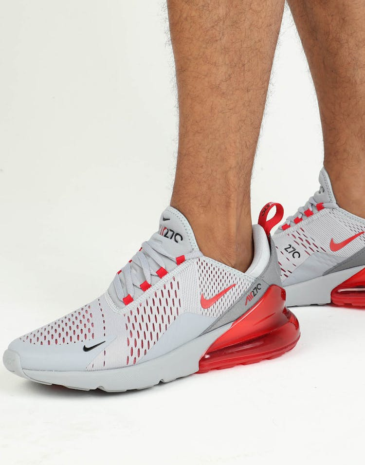 61a8eb6c87 Nike Air Max 270 Grey/Red – Culture Kings
