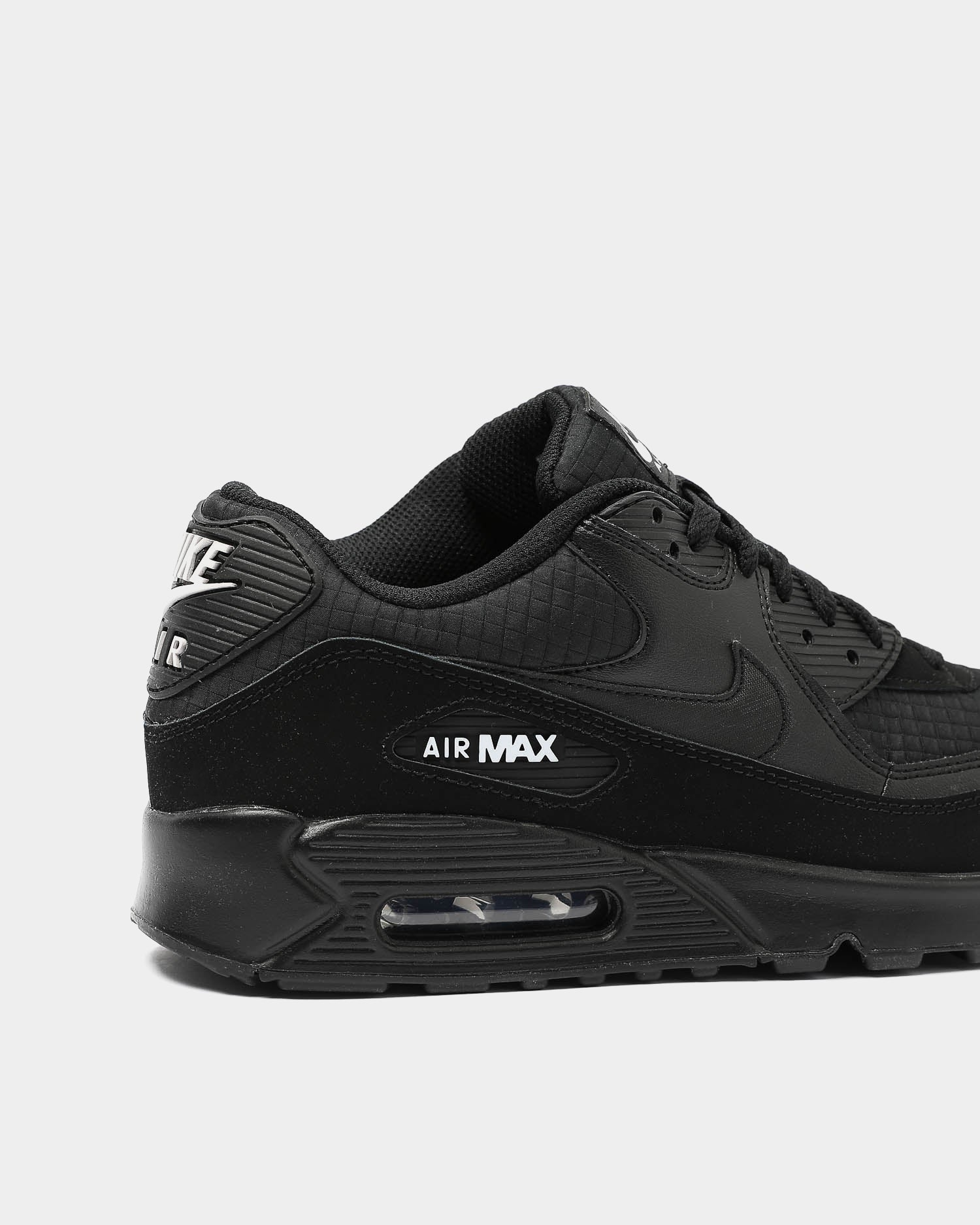 nike air max 90 essential black sport red white