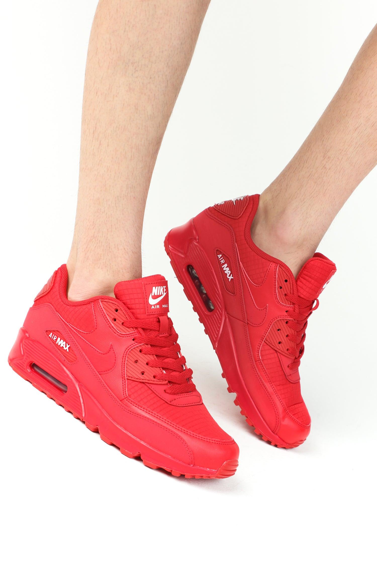 Nike Air Max 90 Essential University Red | 43einhalb Sneaker Store