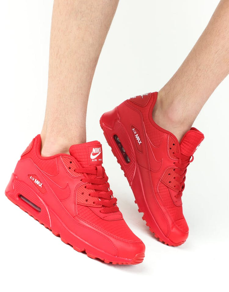 new product 780ad a3b92 Nike Air Max  90 Essentials University Red – Culture Kings