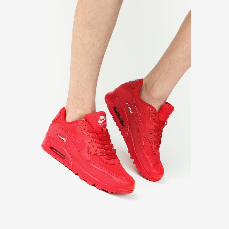 Nike Air Max  90 Essentials University Red – Culture Kings b94ca6819