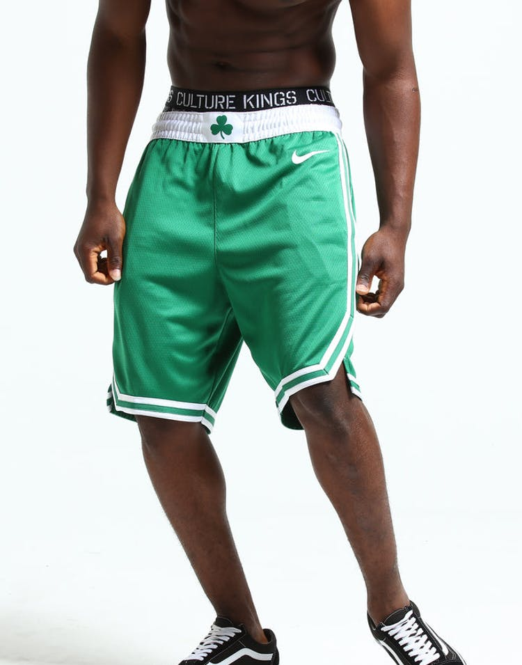 official photos 6c60e f89e6 Nike Boston Celtics Swingman Short Road 18 Clover/White