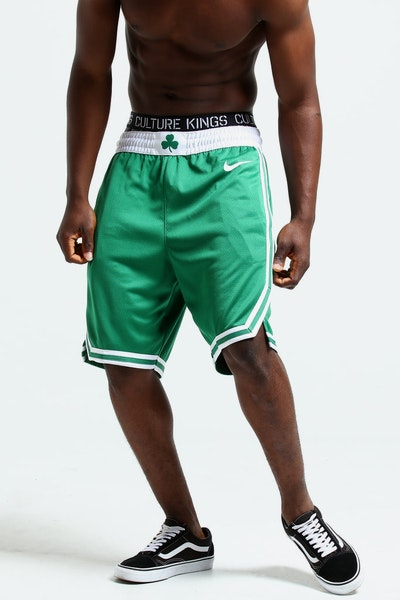 Nike Boston Celtics Swingman Short Road 18 Clover/White