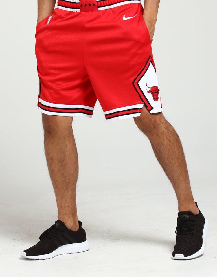 7106904ad2fe Nike Chicago Bulls Swingman Short Road 18 Red White White – Culture Kings