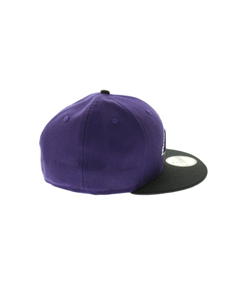 aeebc1ec78cc94 New Era Los Angeles Lakers 59FIFTY Fitted Purple/Black – Culture Kings