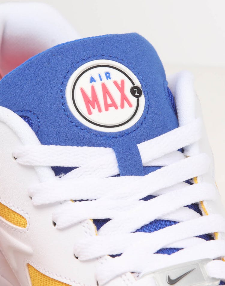 Nike Air Max2 Light White/Blue/Yellow
