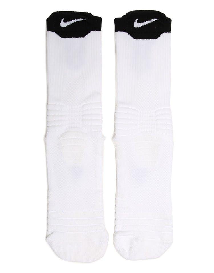 the best attitude 030d9 60b27 Nike Elite Versatility Crew Basketball Sock White Black – Culture Kings