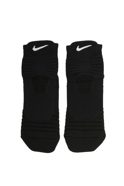 Nike Elite Versatility Mid Basketball Sock Black/White